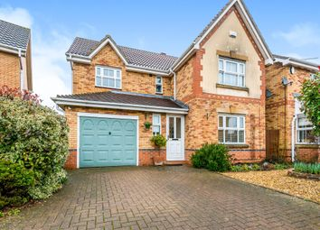 Thumbnail 4 bed detached house for sale in Riverstone Way, Banbury Lane, Northampton