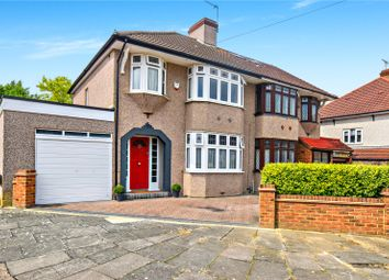 Thumbnail 3 bed semi-detached house for sale in Chessington Avenue, Bexleyheath, Kent