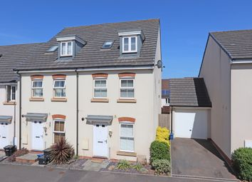Thumbnail 3 bed end terrace house for sale in Swallow Way, Cullompton