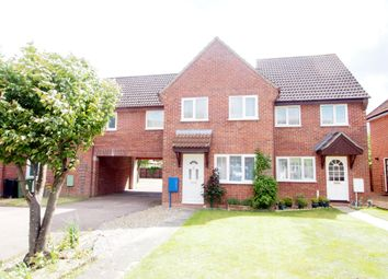 Thumbnail 2 bedroom semi-detached house to rent in Marwood Close, Wymondham, Norfolk