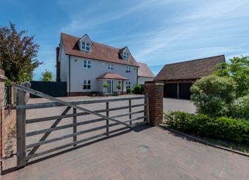 Thumbnail 5 bed detached house for sale in Ipswich Road, Elmsett, Ipswich, Suffolk