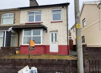 Thumbnail 2 bed semi-detached house to rent in Oak Street, Gilfach Goch -, Porth