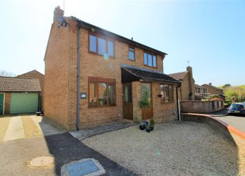Thumbnail 4 bed detached house for sale in Angler Road, Shaw, Swindon