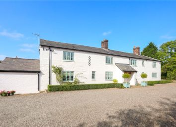 Thumbnail 4 bed detached house for sale in Egerton, Malpas, Cheshire
