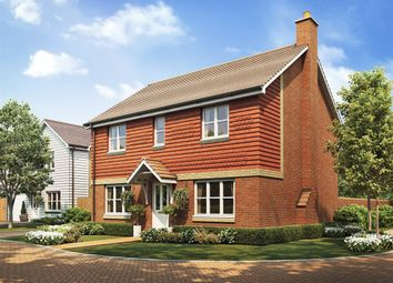 "Thumbnail 4 bedroom detached house for sale in ""The Chedworth Corner"" at Heath Road, Coxheath, Maidstone"