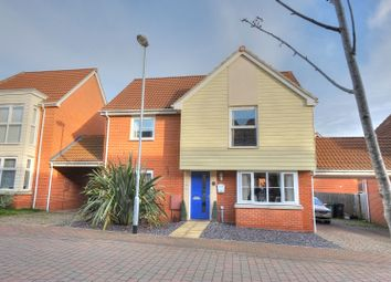 Thumbnail 4 bedroom detached house for sale in Solario Road, Norwich