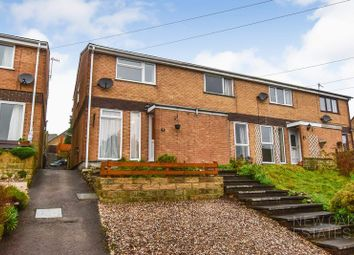 Thumbnail 2 bed town house for sale in Crabtree Close, Wirksworth, Matlock