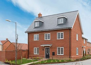 "Thumbnail 4 bed detached house for sale in ""Ryebourne"" at Needlepin Way, Buckingham"