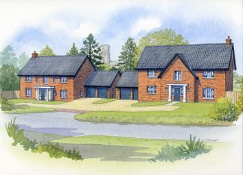 Thumbnail 5 bedroom detached house for sale in Elsing Road, Swanton Morley, Dereham, Norfolk.