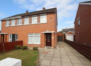 Thumbnail 3 bed semi-detached house for sale in Carwood Park, Newtownabbey