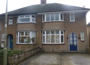 Thumbnail 3 bedroom semi-detached house for sale in Stanway Road, Headington, Oxford