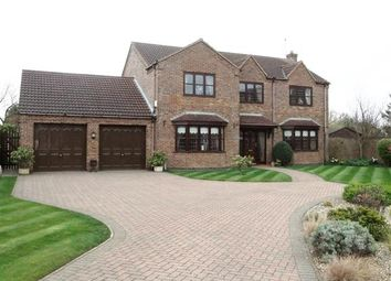 Thumbnail 4 bed detached house for sale in Leaburn Road, Messingham, Scunthorpe