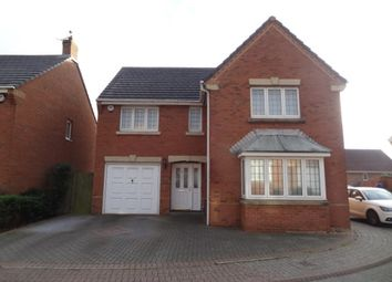Thumbnail 4 bed detached house for sale in Lon Lindys, Rhoose, Barry
