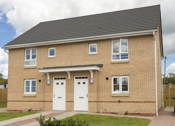 "Thumbnail 3 bed semi-detached house for sale in ""Brodie"" at Foxglove Grove, Cambuslang, Glasgow"