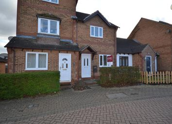 Thumbnail 2 bed terraced house to rent in Twitchen Lane, Furzton, Milton Keynes, Buckinghamshire