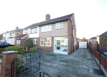 Thumbnail 3 bed semi-detached house for sale in Oakwood Road, Halewood, Liverpool