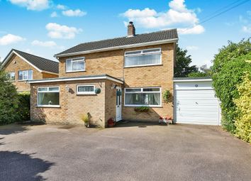 Thumbnail 3 bed detached house for sale in Orchard Way, Tasburgh, Norwich