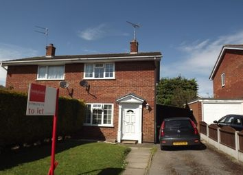 Thumbnail 2 bed property to rent in Cartwright Drive, Gnosall, Stafford