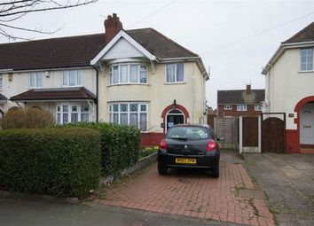 Thumbnail 3 bedroom end terrace house for sale in Stubby Lane, Wednesfield, Wolverhampton, West Midlands