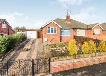 Thumbnail 2 bed semi-detached bungalow for sale in The Mount, Driffield
