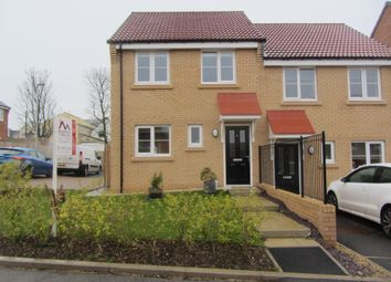 Thumbnail 3 bed semi-detached house to rent in Kirkfields, Sherburn Hill