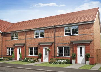 "Thumbnail 2 bedroom terraced house for sale in ""Roseberry"" at Cobblers Lane, Pontefract"