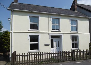 Thumbnail 4 bed detached house to rent in Llanfihangel-Ar-Arth, Pencader, Carmarthenshire, West Wales