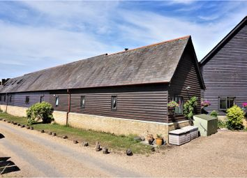 Thumbnail 2 bedroom semi-detached bungalow for sale in The Barns, Edworth, Biggleswade