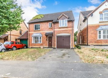 Thumbnail 4 bed detached house for sale in Haweswater Road, Kettering