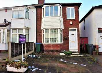 Thumbnail 2 bedroom semi-detached house for sale in Cygnet Road, West Bromwich