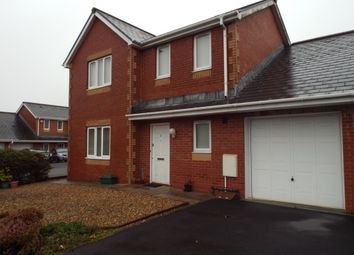 Thumbnail 3 bed link-detached house for sale in Heol Derwen, Cross Hands, Llanelli