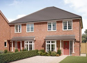 "Thumbnail 3 bed semi-detached house for sale in ""The Kilmington"" at Chilton, Ferryhill"