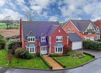 Thumbnail 5 bed detached house for sale in Blockley Close, Webheath, Redditch