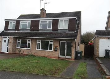 Thumbnail Semi-detached house to rent in Stapleton Close Redditch, Winyates West, Redditch