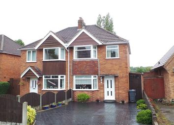 Thumbnail 3 bed semi-detached house for sale in Harcourt Drive, Four Oaks, Sutton Coldfield