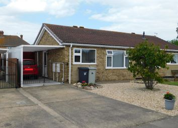 Thumbnail 2 bed semi-detached bungalow for sale in Martin Way, Winthorpe, Skegness