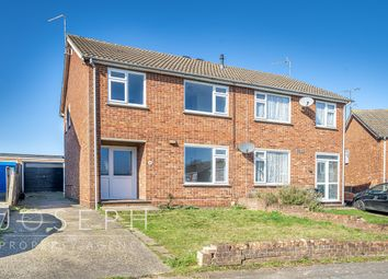 Thumbnail 3 bed semi-detached house for sale in Malvern Close, Ipswich