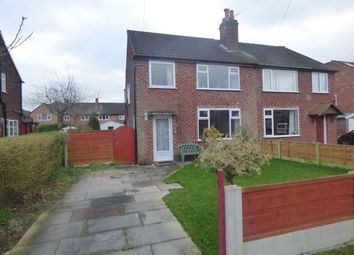 Thumbnail 3 bed semi-detached house for sale in Lydgate Road, Sale, Trafford, Greater Manchester