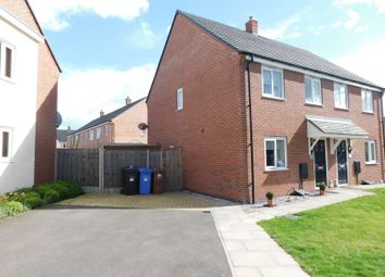 Thumbnail 3 bed semi-detached house for sale in St. Thomas Way, Rugeley