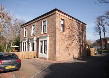Thumbnail 3 bed flat for sale in Silverwells Drive, Bothwell, Glasgow