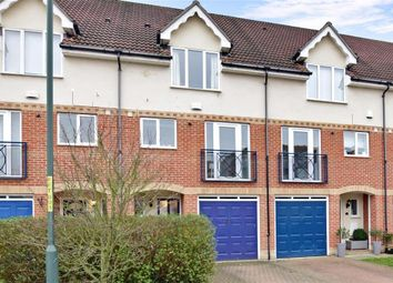 Thumbnail 3 bed terraced house for sale in Fennel Close, The Esplanade, Rochester, Kent