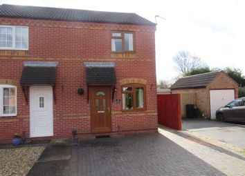 Thumbnail 2 bed semi-detached house to rent in Clipstone Gardens, Wigston
