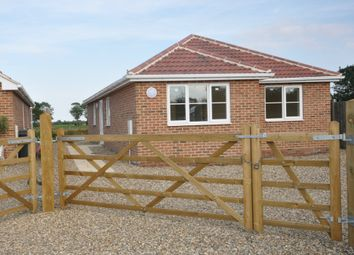 Thumbnail 3 bed detached bungalow for sale in The Street, Tivetshall St. Mary, Norwich