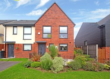 Thumbnail 3 bed semi-detached house for sale in Off Eaves Lane, Bucknall, Stoke-On-Trent