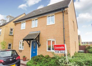 Thumbnail 3 bedroom detached house for sale in Sprigs Road, Hampton Hargate, Peterborough