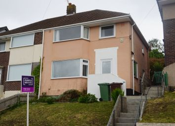 3 bed semi-detached house for sale in Bridwell Road, Plymouth PL5
