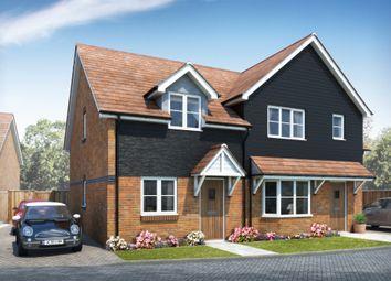 Thumbnail 3 bed semi-detached house for sale in Foxs Furlong, Chineham, Basingstoke