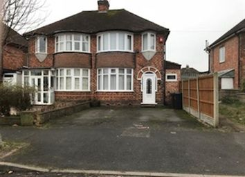 Thumbnail 3 bed semi-detached house for sale in Wellsford Avenue, Solihull, Solihull