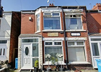 Thumbnail 2 bedroom terraced house for sale in Jesmond Gardens, Hull