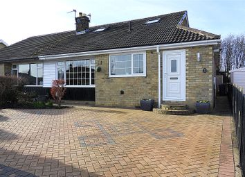 Thumbnail 3 bed semi-detached bungalow for sale in Sunny Bank Parade, Mirfield, West Yorkshire
